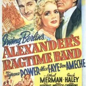 Alexander's Ragtime Band is listed (or ranked) 13 on the list The Best '30s Romance Movies