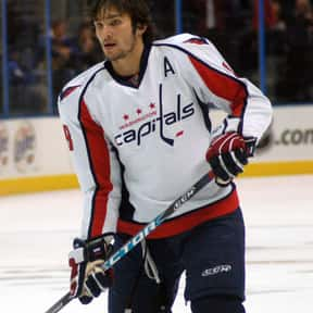 Alexander Ovechkin is listed (or ranked) 19 on the list The Most Influential Athletes Of All Time