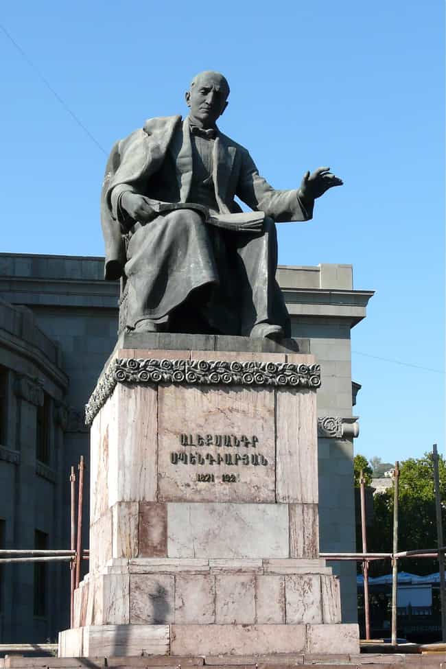 Alexander Spendiaryan is listed (or ranked) 2 on the list Famous Composers from Armenia