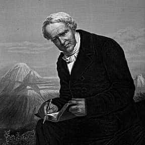 Alexander von Humboldt is listed (or ranked) 5 on the list List of Famous Naturalists