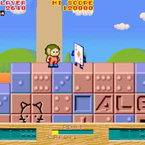 Alex Kidd: The Lost Stars is listed (or ranked) 6 on the list List of Sega Platform Games