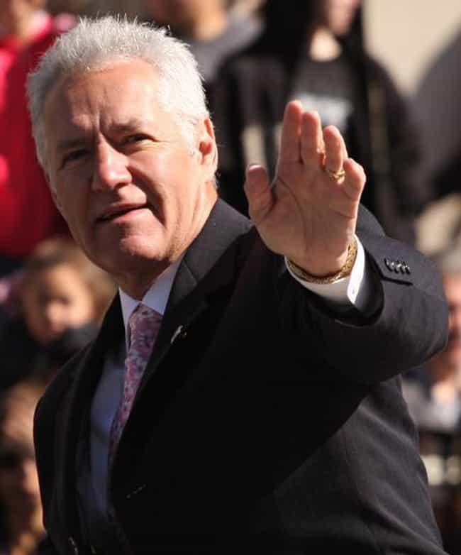 Alex Trebek is listed (or ranked) 4 on the list Famous People Born in 1940