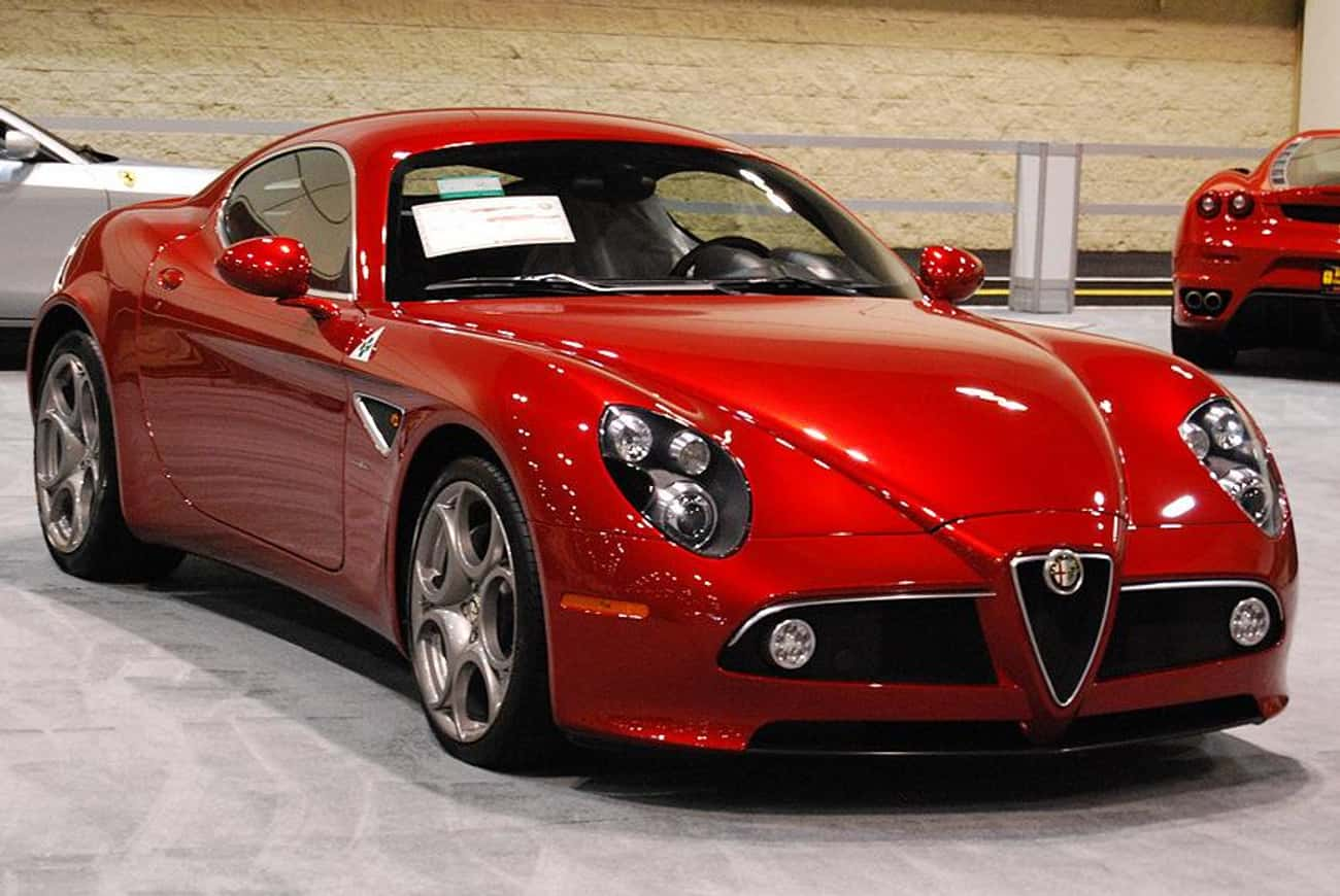 Alfa Romeo 8C Competizione is listed (or ranked) 2 on the list Full List of Alfa Romeo Models