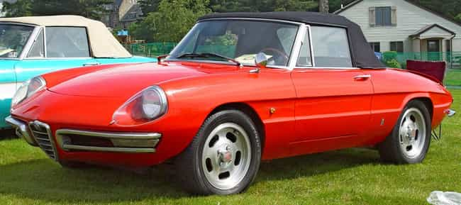 Alfa Romeo Spider is listed (or ranked) 1 on the list Full List of Alfa Romeo Models