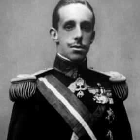 Alfonso XIII of Spain is listed (or ranked) 7 on the list Famous People Named Alfonso