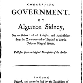 Algernon Sydney is listed (or ranked) 24 on the list Famous Politicians from England