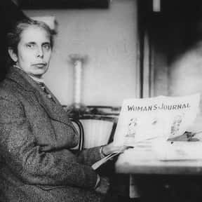 Alice Stone Blackwell is listed (or ranked) 10 on the list Famous People Buried in Massachusetts