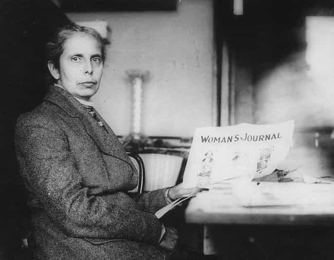 Alice Stone Blackwell is listed (or ranked) 1 on the list Famous People Buried in Forest Hills Cemetery