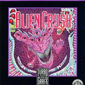 Alien Crush is listed (or ranked) 18 on the list The Best TurboGrafx-16 Games