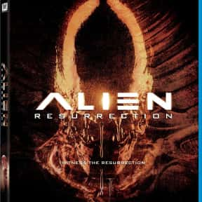 Alien: Resurrection is listed (or ranked) 23 on the list The Greatest Guilty Pleasure Sci-Fi Movies
