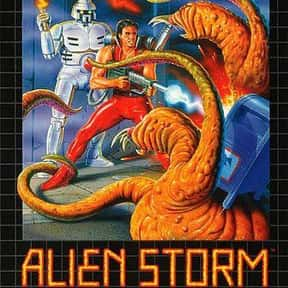 Alien Storm is listed (or ranked) 25 on the list The Best Beat 'em Up Games Of All Time