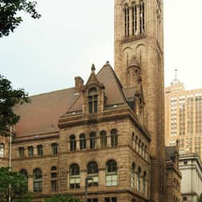 Allegheny County Courthouse is listed (or ranked) 3 on the list Famous Romanesque Revival Architecture Buildings