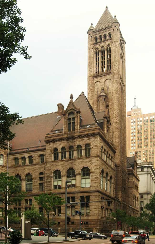Allegheny County Courthouse is listed (or ranked) 3 on the list List of Henry Hobson Richardson Architecture