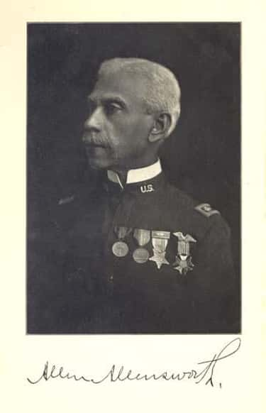 Allen Allensworth is listed (or ranked) 2 on the list Famous Roger Williams University Alumni