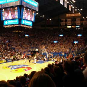 Allen Fieldhouse is listed (or ranked) 2 on the list The Best College Basketball Arenas