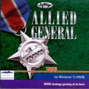 Allied General is listed (or ranked) 4 on the list The Best Video Games Set In WW2