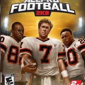 All-Pro Football 2K8 is listed (or ranked) 2 on the list The Best Xbox 360 Football Games