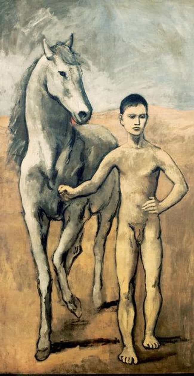Boy Leading a Horse is listed (or ranked) 2 on the list Famous Rose Period Artwork