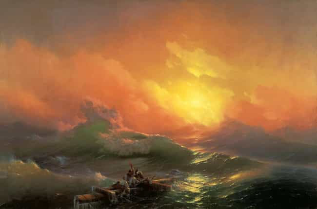 The Ninth Wave is listed (or ranked) 3 on the list The Best Paintings Of All Time