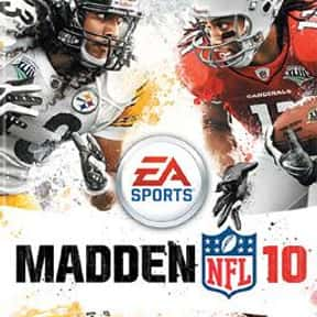 Madden NFL 10 is listed (or ranked) 16 on the list The Best American Football Games of All Time