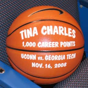 Tina Charles is listed (or ranked) 19 on the list Famous People Named Christina