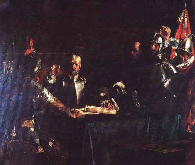 The Blood Compact is listed (or ranked) 1 on the list Famous Juan Luna Paintings