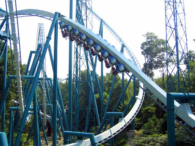 Alpengeist is listed (or ranked) 4 on the list List of Busch Gardens Williamsburg Rides