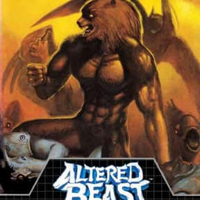 Altered Beast is listed (or ranked) 6 on the list The Best Werewolf Video Games of All Time