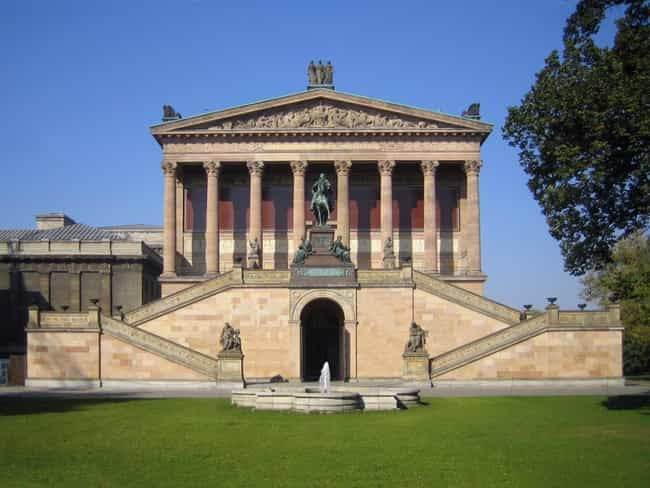 Alte Nationalgalerie is listed (or ranked) 1 on the list Karl Friedrich Schinkel Architecture