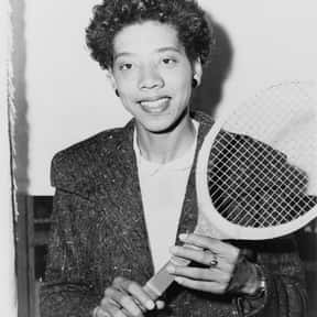 Althea Gibson is listed (or ranked) 2 on the list The Best Women's Tennis Players of the 1950s