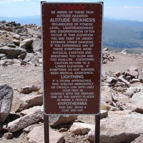 Altitude sickness is listed (or ranked) 5 on the list List of Common Diseases: Most Common Illnesses