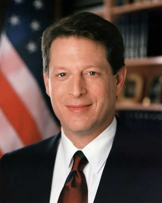 Al Gore is listed (or ranked) 4 on the list Famous Male Politicians