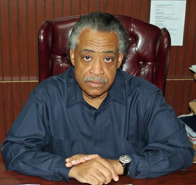 Al Sharpton is listed (or ranked) 2 on the list Famous Male Politicians