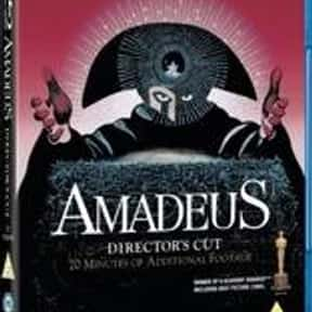 Amadeus is listed (or ranked) 15 on the list The Best Movies of 1984