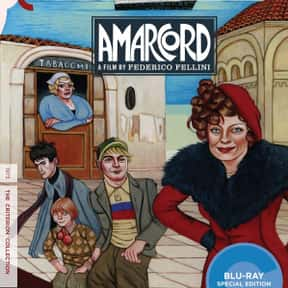Amarcord is listed (or ranked) 17 on the list The 100+ Best Movies Streaming On The Criterion Channel