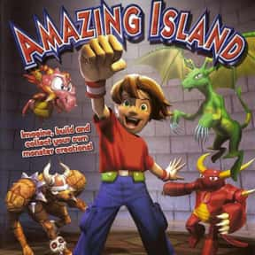Amazing Island is listed (or ranked) 11 on the list List of Gamecube Games