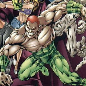 Amazo is listed (or ranked) 10 on the list All DC Villains & DC Comics Enemies