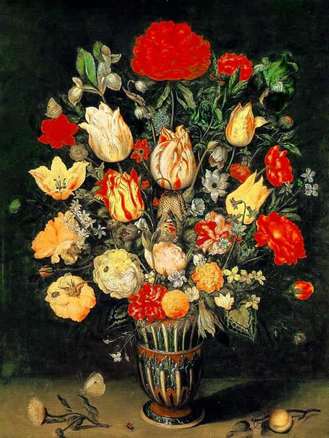 Ambrosius Bosschaert is listed (or ranked) 2 on the list Famous Dutch Golden Age Artists