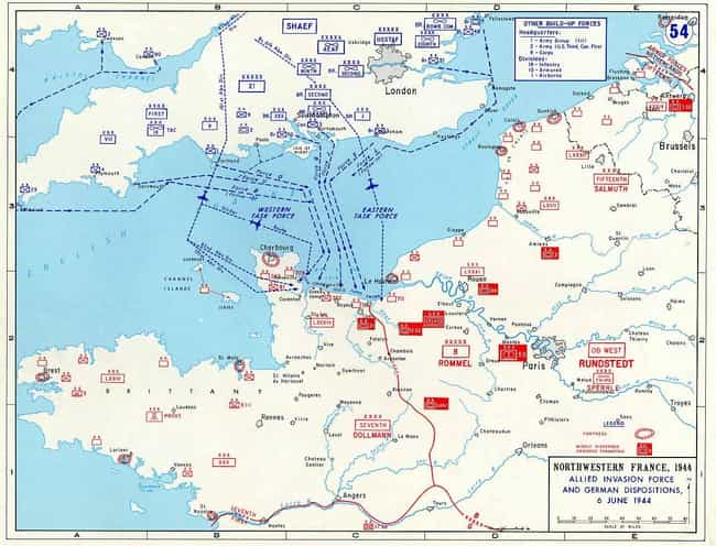 Map Of Normandy France Detailed.A List Of All Battle Of Normandy Battles