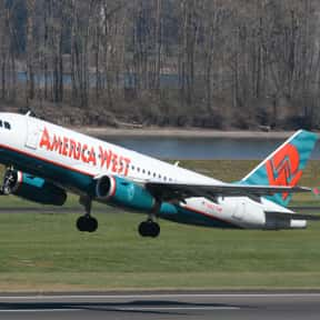 America West Airlines is listed (or ranked) 4 on the list Companies Headquartered in Arizona