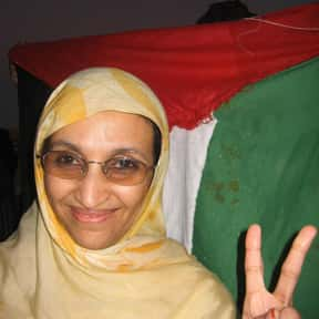 Aminatou Haidar is listed (or ranked) 9 on the list List of Famous Human Rights Activists