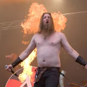 Amon Amarth is listed (or ranked) 8 on the list List of Famous Bands from Sweden