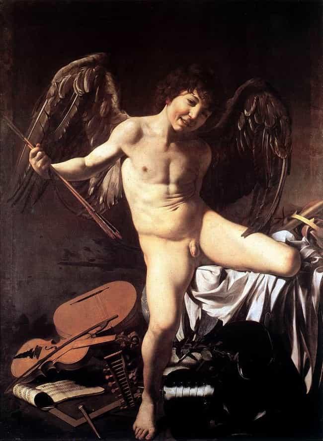 Amor Vincit Omnia is listed (or ranked) 3 on the list List of Famous Caravaggio Artwork