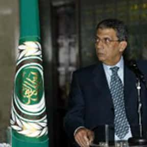 Amr Moussa is listed (or ranked) 14 on the list Famous Cairo University Alumni