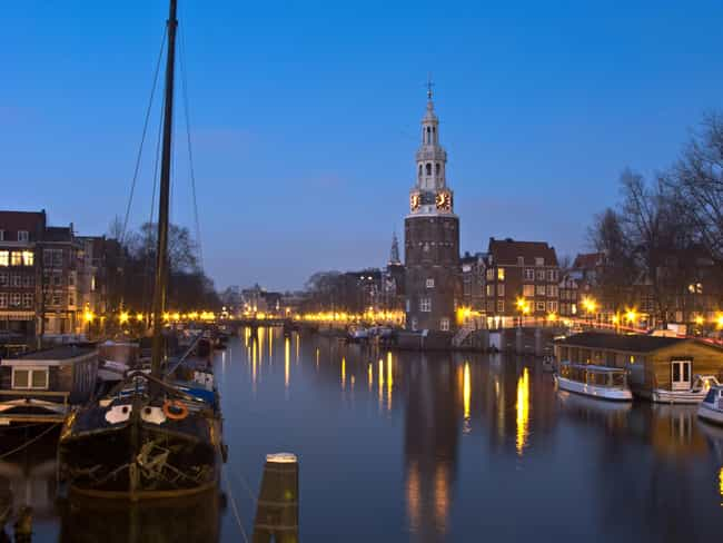Amsterdam is listed (or ranked) 7 on the list The Most Beautiful Cities in the World