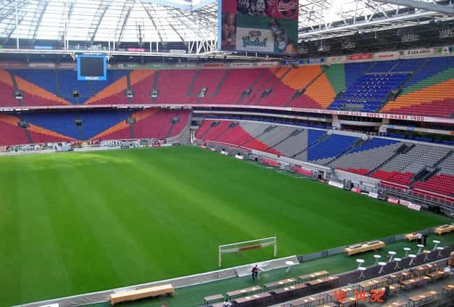 Amsterdam Arena is listed (or ranked) 1 on the list List of Famous Amsterdam Buildings & Structures