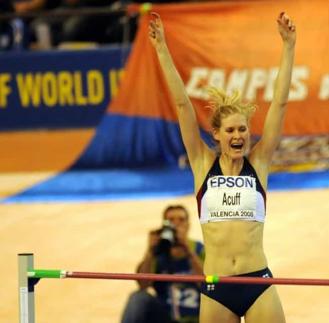 Amy Acuff is listed (or ranked) 3 on the list Famous Female Track And Field Athletes