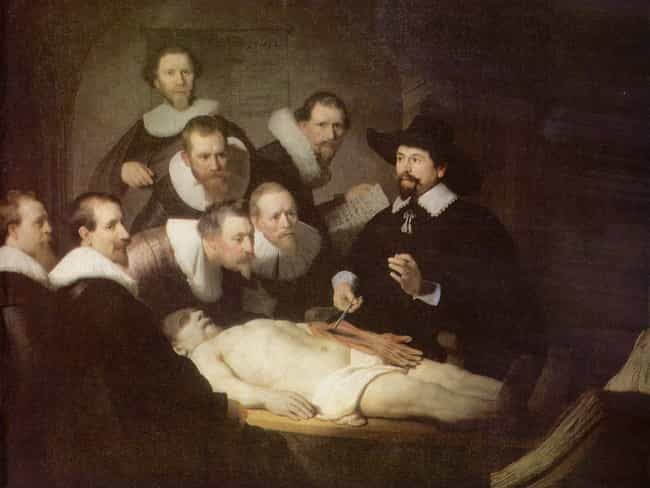 The Anatomy Lesson of Dr. Nico... is listed (or ranked) 4 on the list Famous Rembrandt Paintings