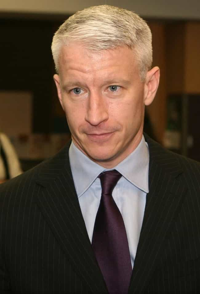 Anderson Cooper is listed (or ranked) 3 on the list Famous People Who Have Had Skin Cancer