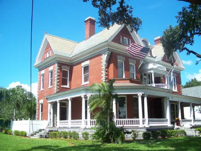 Anderson-Frank House is listed (or ranked) 2 on the list List of Famous Tampa Buildings & Structures